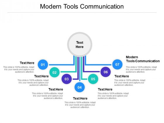 Modern Tools Communication Ppt PowerPoint Presentation Ideas Cpb Pdf