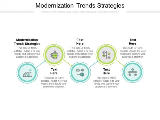 Modernization Trends Strategies Ppt PowerPoint Presentation Infographics Graphics Cpb