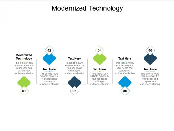 Modernized Technology Ppt PowerPoint Presentation Inspiration Infographic Template Cpb