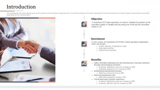 Modifying Banking Functionalities Introduction Inspiration PDF