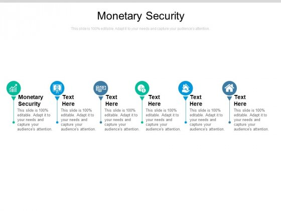 Monetary Security Ppt PowerPoint Presentation Layouts Design Templates Cpb