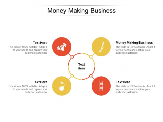 Money Making Business Ppt PowerPoint Presentation Outline Design Templates Cpb