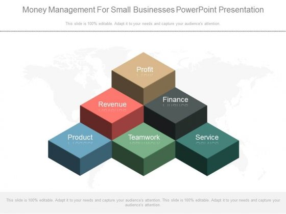 Money Management For Small Businesses Powerpoint Presentation