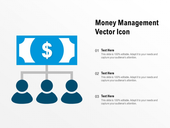 Money Management Vector Icon Ppt PowerPoint Presentation Layouts Introduction