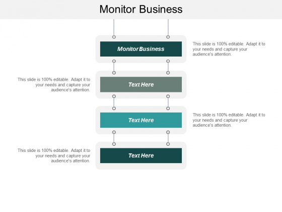 Monitor Business Ppt PowerPoint Presentation Professional Format Ideas Cpb