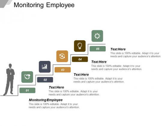 Monitoring Employee Ppt PowerPoint Presentation Pictures Background Image Cpb