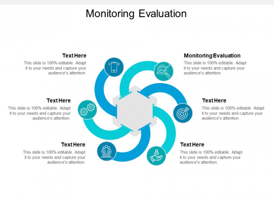 Monitoring Evaluation Ppt PowerPoint Presentation File Design Ideas Cpb