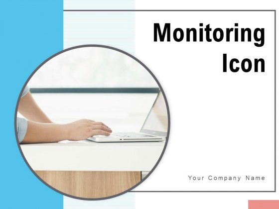 Monitoring Icon Exclamation Location Magnifying Glass Ppt PowerPoint Presentation Complete Deck