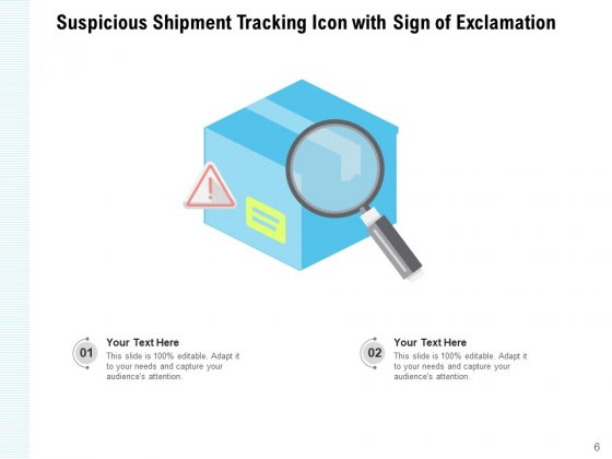 Monitoring_Icon_Exclamation_Location_Magnifying_Glass_Ppt_PowerPoint_Presentation_Complete_Deck_Slide_6