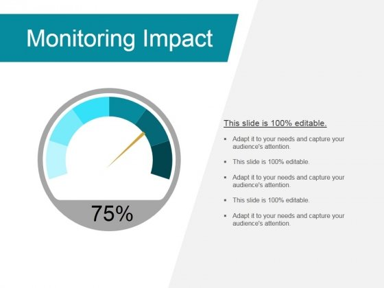 Monitoring Impact Ppt PowerPoint Presentation Professional