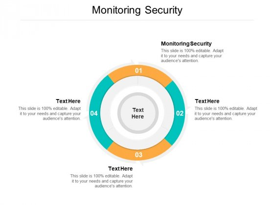 Monitoring Security Ppt PowerPoint Presentation Model Smartart Cpb