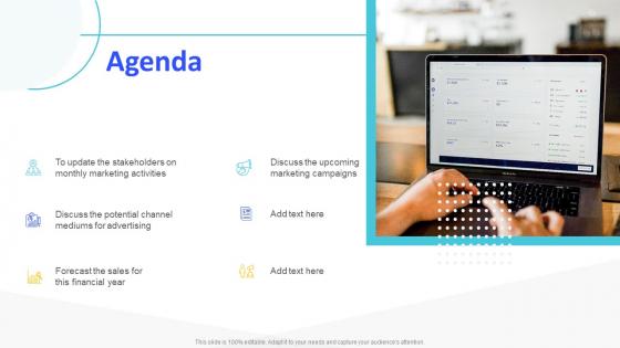 Monthly_Digital_Marketing_Report_Template_Agenda_Diagrams_PDF_Slide_1