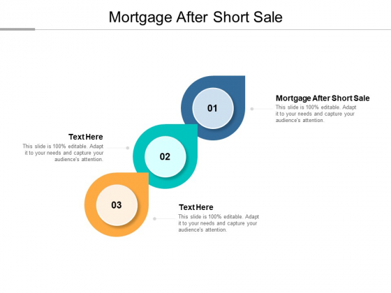 Mortgage After Short Sale Ppt PowerPoint Presentation Portfolio Graphic Images Cpb Pdf