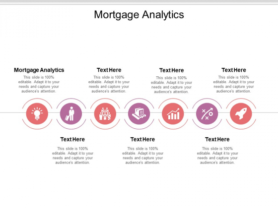 Mortgage Analytics Ppt PowerPoint Presentation Ideas Design Ideas Cpb Pdf