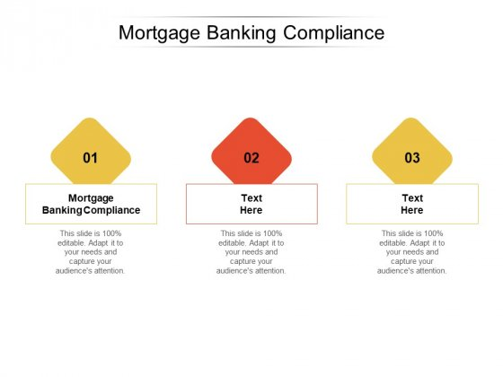 Mortgage Banking Compliance Ppt PowerPoint Presentation Summary Example Cpb