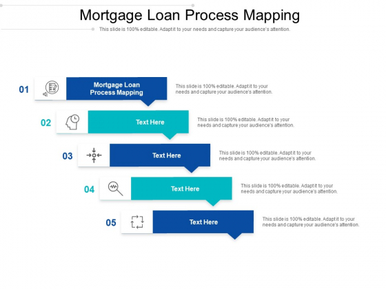 Mortgage Loan Process Mapping Ppt PowerPoint Presentation Slides Themes Cpb Pdf