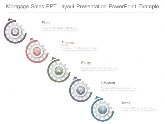 Mortgage Sales Ppt Layout Presentation Powerpoint Example