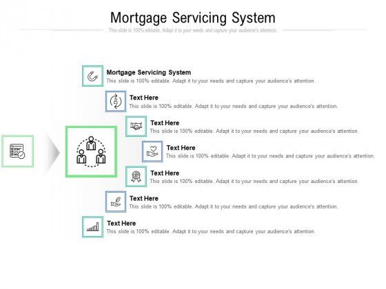 Mortgage Servicing System Ppt PowerPoint Presentation Slides Maker Cpb Pdf