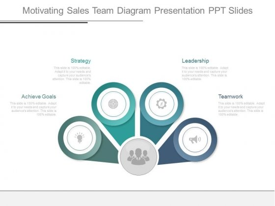 Motivating Sales Team Diagram Presentation Ppt Slides