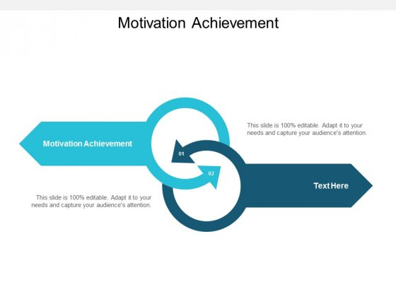 Motivation Achievement Ppt PowerPoint Presentation Inspiration Outfit Cpb