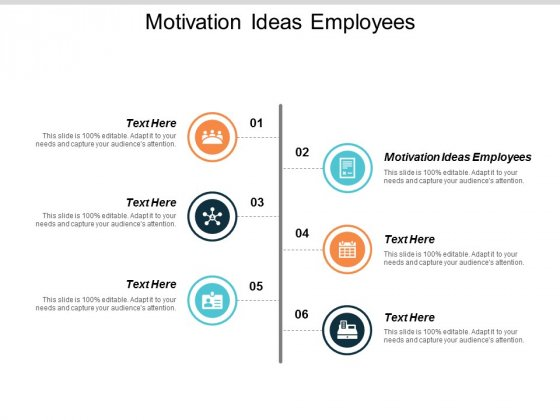 Motivation Ideas Employees Ppt PowerPoint Presentation Outline Smartart Cpb