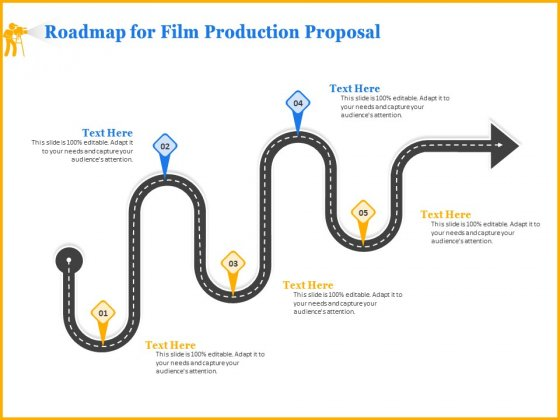 Movie_Production_Proposal_Template_Roadmap_For_Film_Production_Proposal_Introduction_PDF_Slide_1