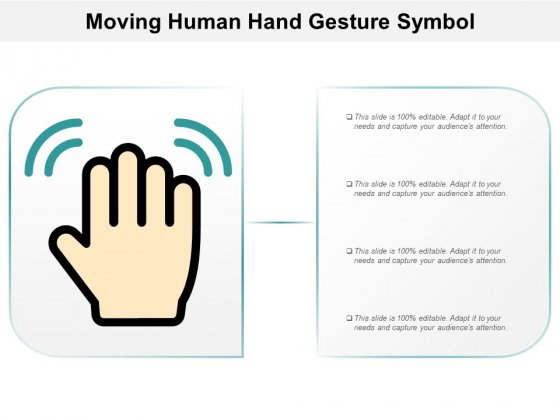 Moving Human Hand Gesture Symbol Ppt PowerPoint Presentation Inspiration Background
