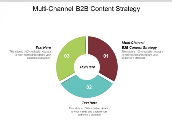 Multi Channel B2B Content Strategy Ppt PowerPoint Presentation Infographic Template Diagrams Cpb