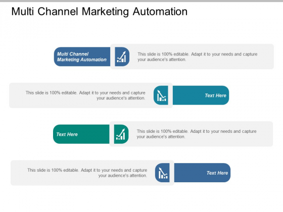Multi Channel Marketing Automation Ppt PowerPoint Presentation Icon Example Introduction
