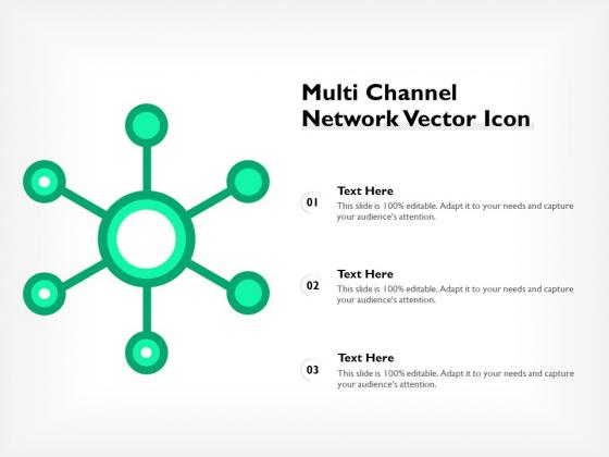 Multi Channel Network Vector Icon Ppt PowerPoint Presentation Ideas Design Ideas PDF