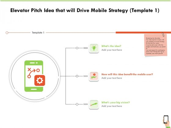 Multi Channel Online Commerce Elevator Pitch Idea That Will Drive Mobile Strategy Big Portrait PDF