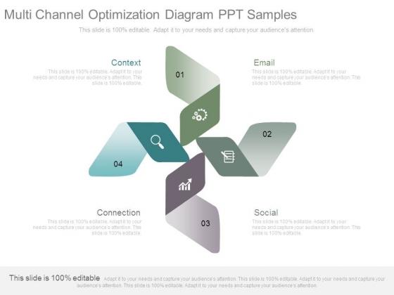 Multi Channel Optimization Diagram Ppt Samples