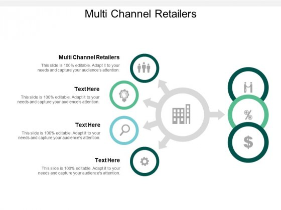 Multi Channel Retailers Ppt PowerPoint Presentation Gallery Professional Cpb