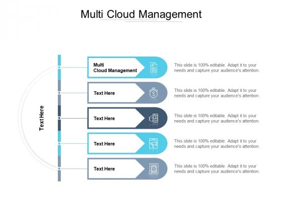 Multi Cloud Management Ppt PowerPoint Presentation Portfolio Graphic Images Cpb Pdf