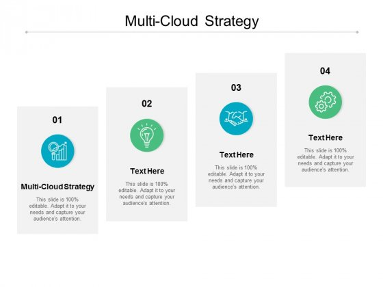 Multi Cloud Strategy Ppt PowerPoint Presentation Ideas Templates Cpb
