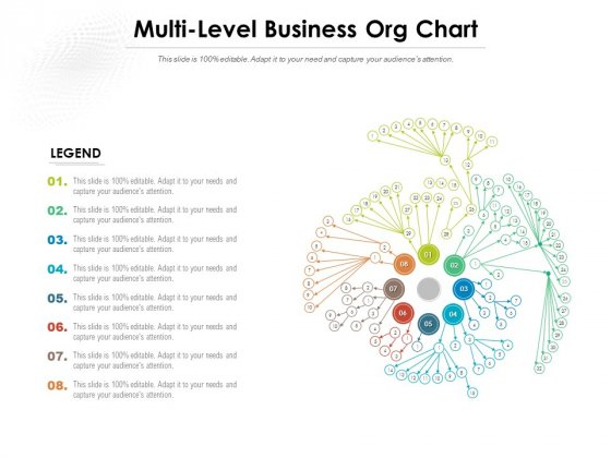 Multi Level Business Org Chart Ppt PowerPoint Presentation Infographic Template Clipart