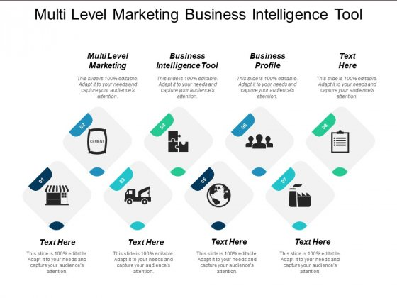 Multi Level Marketing Business Intelligence Tool Business Profile Ppt PowerPoint Presentation Outline Background Images