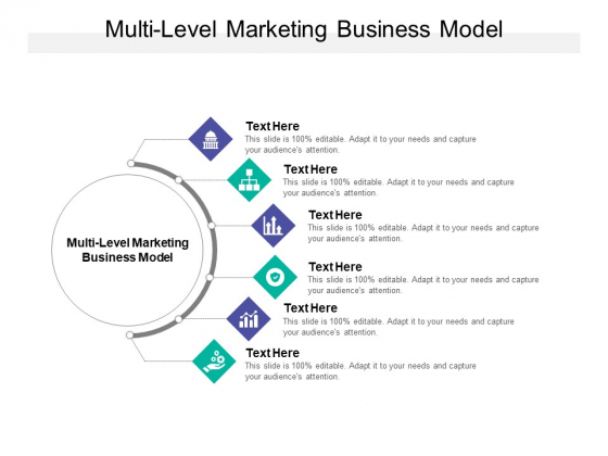 Multi Level Marketing Business Model Ppt PowerPoint Presentation Ideas Backgrounds Cpb