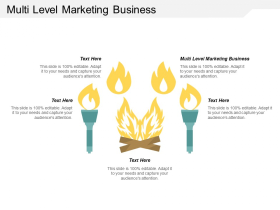 Multi Level Marketing Business Ppt PowerPoint Presentation Infographic Template Structure Cpb