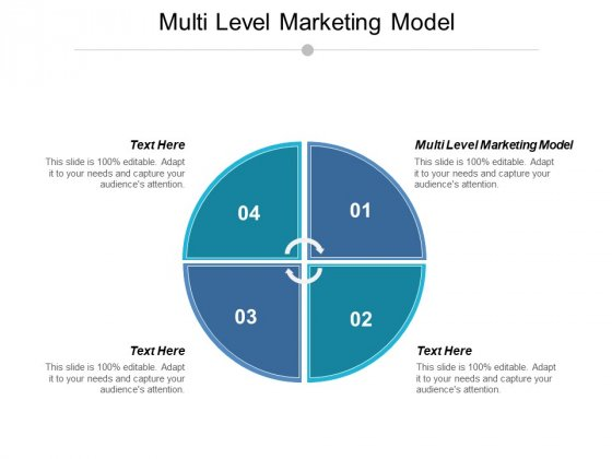 Multi Level Marketing Model Ppt PowerPoint Presentation Model Backgrounds