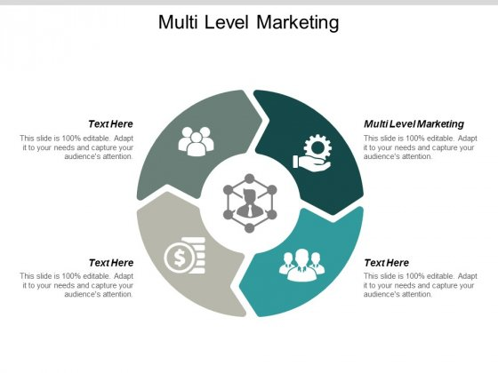 Multi Level Marketing Ppt Powerpoint Presentation Gallery Graphics Template Cpb