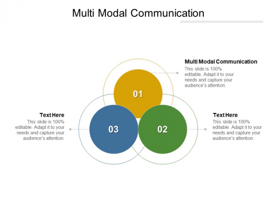Multi Modal Communication Ppt PowerPoint Presentation Model Picture Cpb