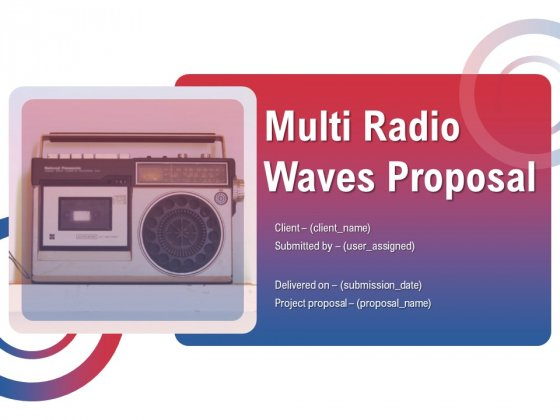 Multi_Radio_Waves_Proposal_Ppt_PowerPoint_Presentation_Complete_Deck_With_Slides_Slide_1
