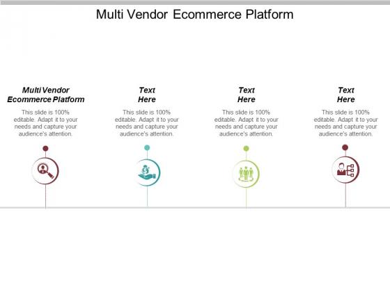 Multi Vendor Ecommerce Platform Ppt PowerPoint Presentation Layouts Show Cpb
