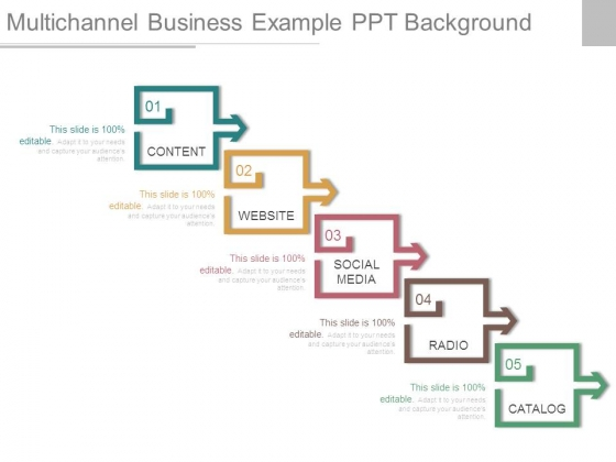 Multichannel Business Example Ppt Background