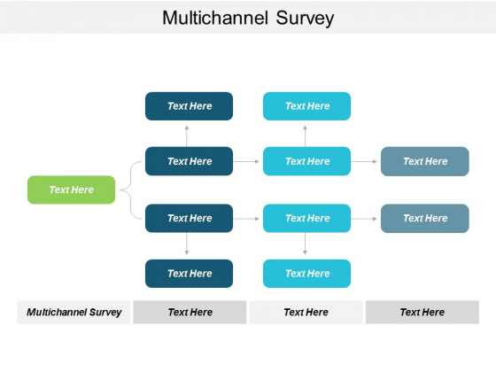 Multichannel Survey Ppt Powerpoint Presentation Infographics Gridlines Cpb