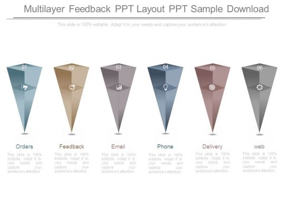 Multilayer Feedback Ppt Layout Ppt Sample Download
