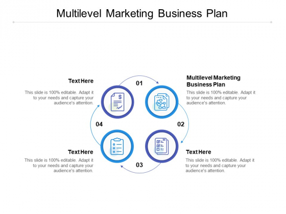 Multilevel Marketing Business Plan Ppt PowerPoint Presentation File Layout Cpb