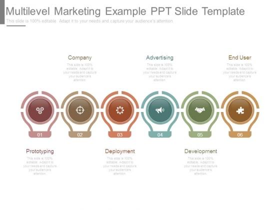 Multilevel Marketing Example Ppt Slide Template Powerpoint