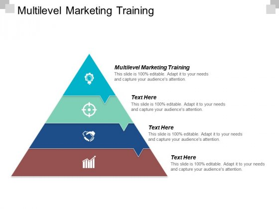 Multilevel Marketing Training Ppt PowerPoint Presentation Gallery Graphics Pictures